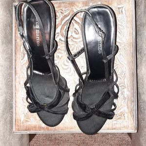 Ann Marino Black Heel Sandals